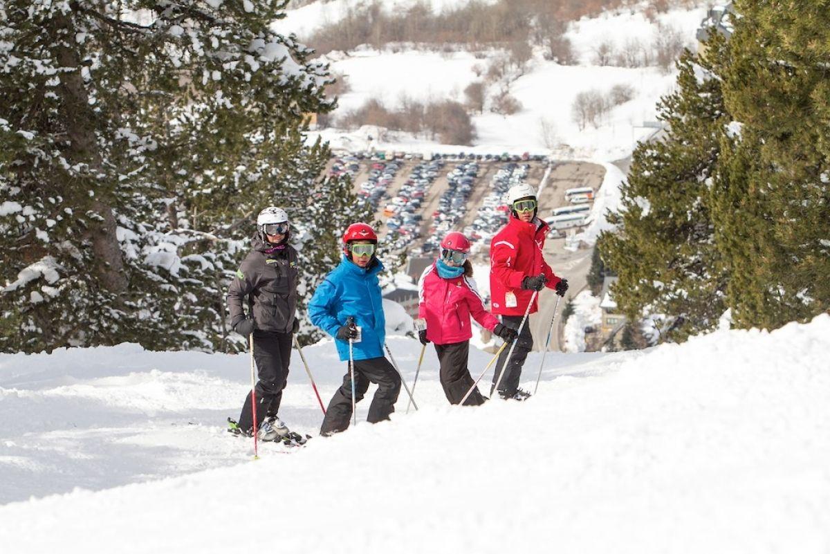 La mejor edad para empezar a esquiar