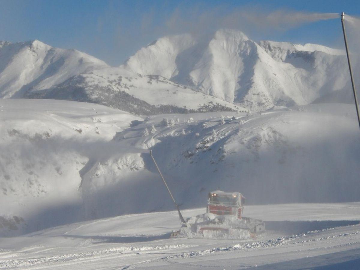 Nieve en Baqueira Beret cantidad y calidad