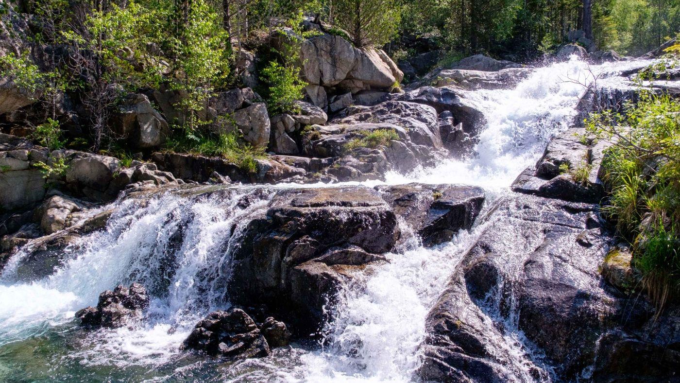 Parque Nacional aguas río