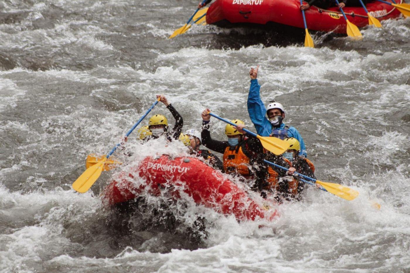Rafting en el valle de aran