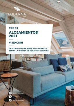 Top 10 alojamientos 2021