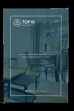 Top 10 mejores alojamientos 2018