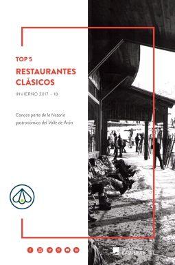 Top 5 restaurantes clásicos en Baqueira