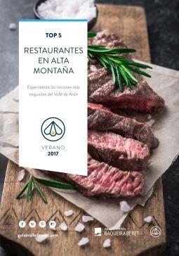 Top 5 rrestaurantes de montaña