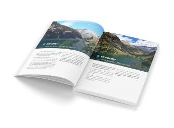 eBook 5 lagos para visitar en el Valle
