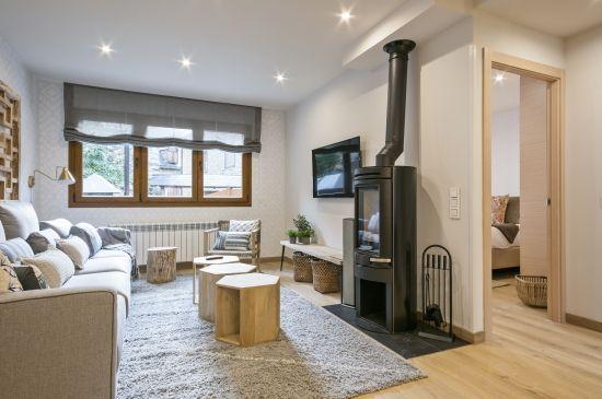 Estilo Luderna Design, calidad y confort para 4 en Gessa