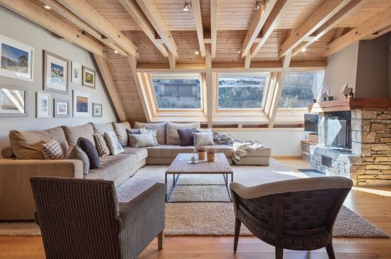 Probablemente una de las mejores salas de estar del Valle de Aran