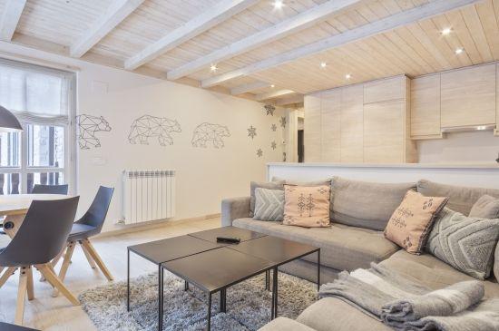 Extraordinario apartamento de diseño con toques Scandi