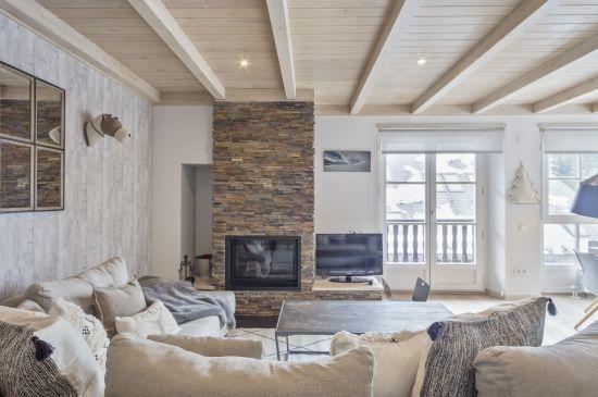 Tranquilo apartamento con decoración Scandi