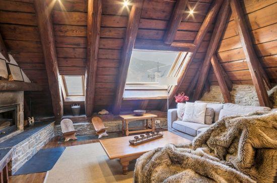 Espectacular casa con auténtica atmósfera aranesa
