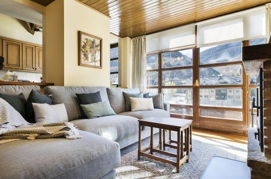 Céntrico dúplex con vistas a las montañas del Pirineo