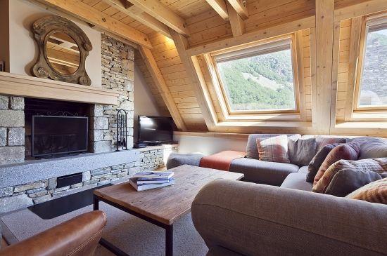 Apartamento estilo nórdico del Pirineo
