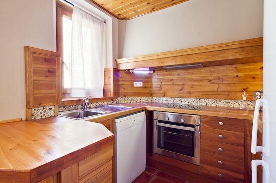 Amplio y luminoso apartamento con chiminea