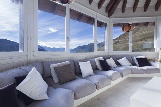 Apartamento panorámico ubicado en la parte más alta del Valle de Arán