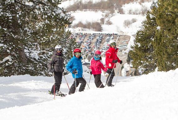 10 recomendaciones para esquiar con niños