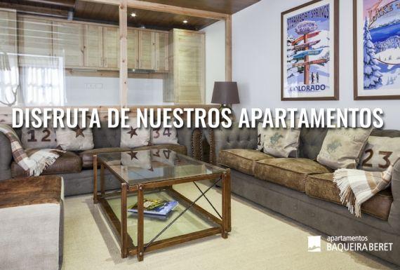 Los mejores apartamentos en Baqueira y el Valle de Aran