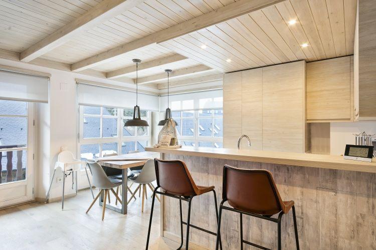 Apartamento  Val de Ruda B22 barra cocina