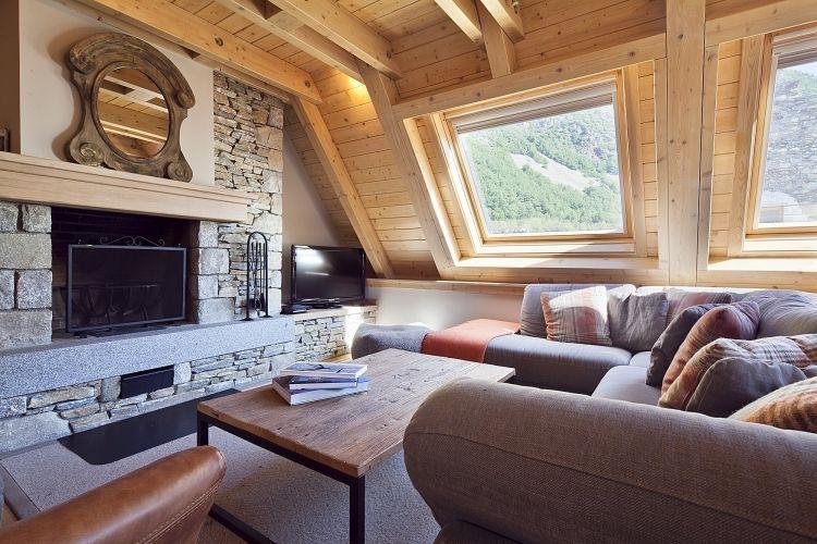 Vista Unha C sala de estar
