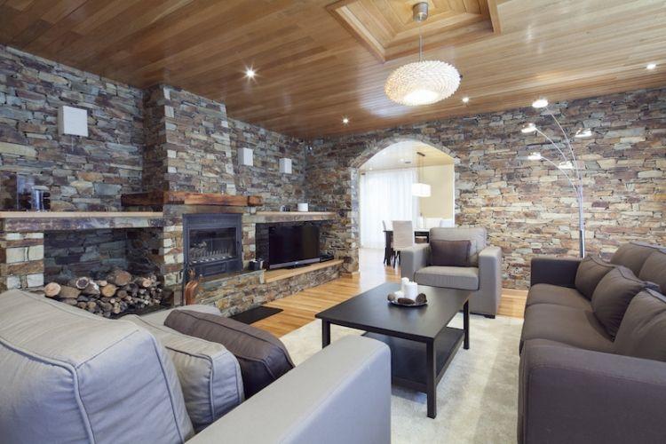 Casa Montcorbisson, sala de estar
