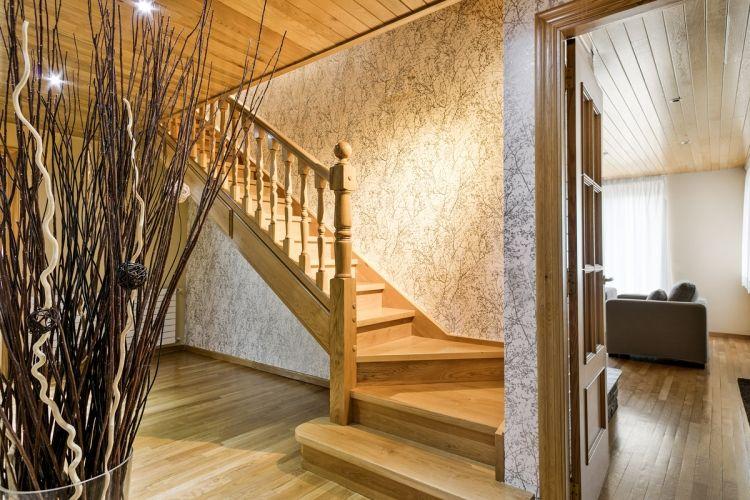 Casa Montcorbison, lujo en Vielha, Baqueira Beret, Pirineos, escalera
