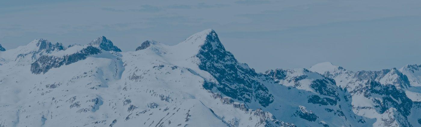 Montaña Valle de Arán Invierno