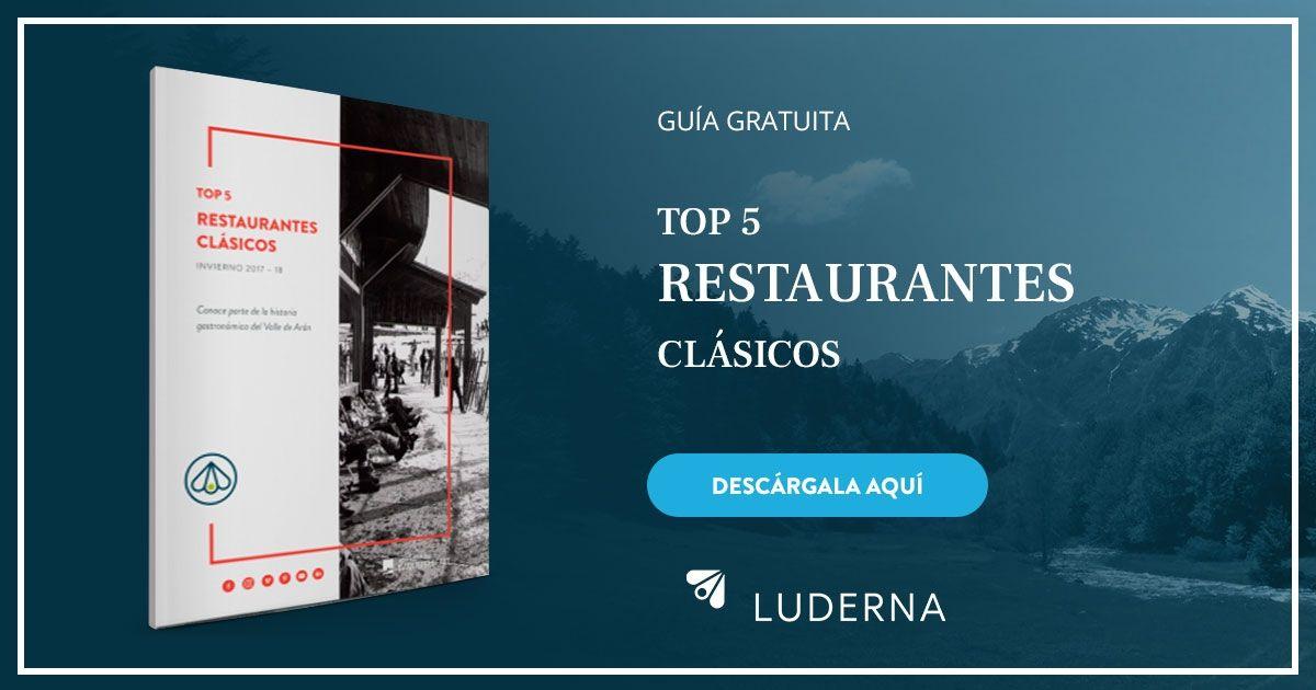 guia de restaurantes clásicos en Baqueira