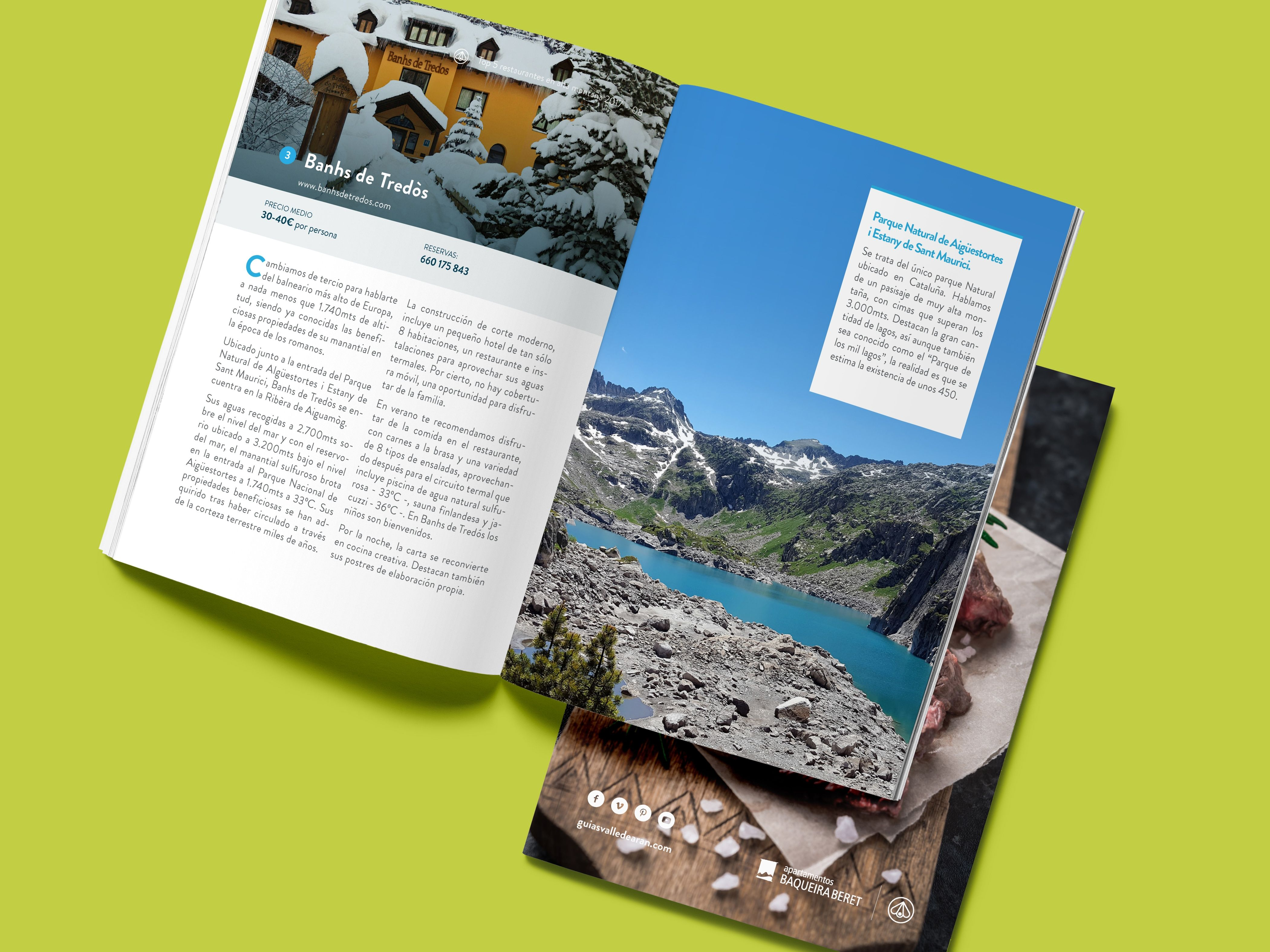 eBook gratis: TOP 5 Restaurantes de Montaña by Luderna