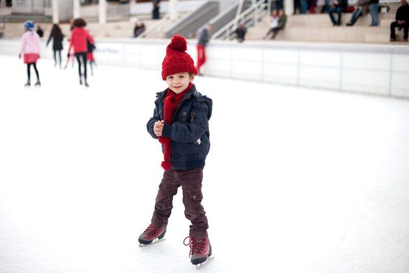 patinaje sobre hielo vielha