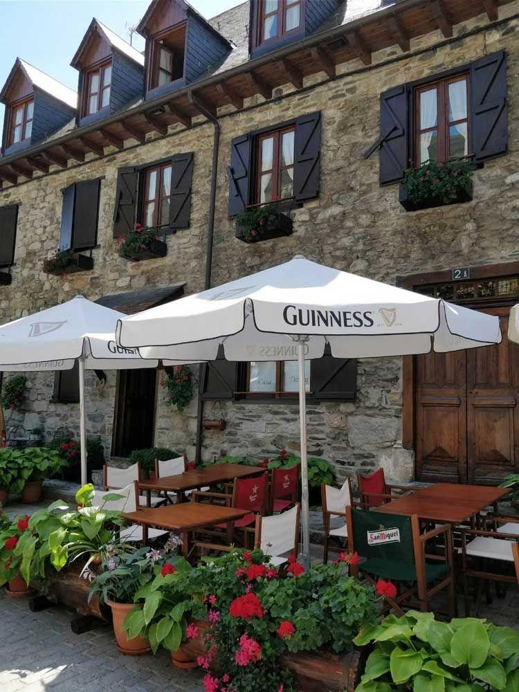 Restaurante Casa Turnay en Escunhau
